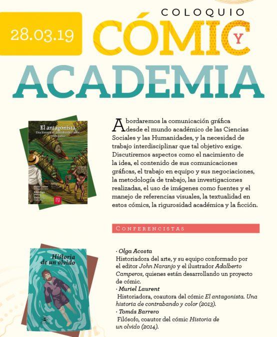 Coloquio: Cómic y academia