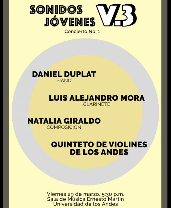 Concierto no. 1: Sonidos Jóvenes V.3