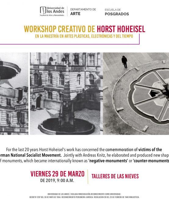 Workshop creativo de Horst Hoheisel