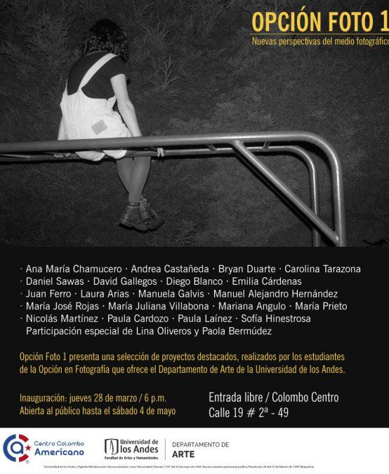 Exposición Opción Foto 1: Nuevas perspectivas del medio fotográfico