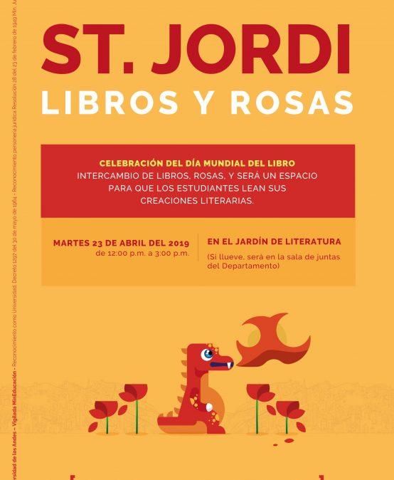 St. Jordi – Libros y rosas