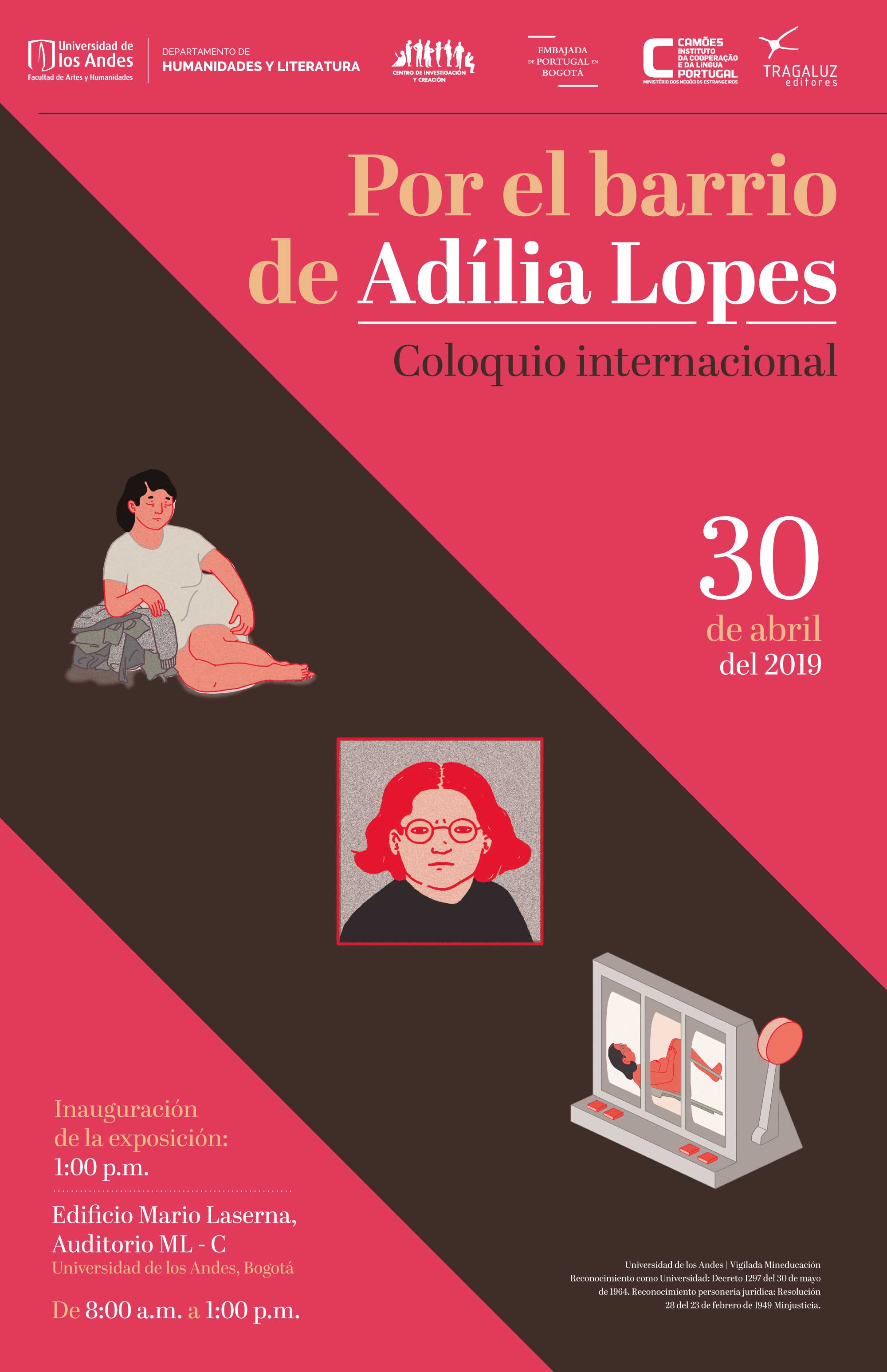 Coloquio internacional Adília Lopes