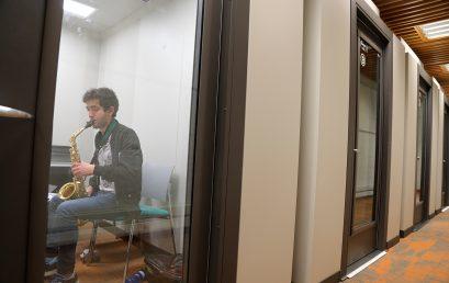 Nuevas cabinas de estudio para el Departamento de Música