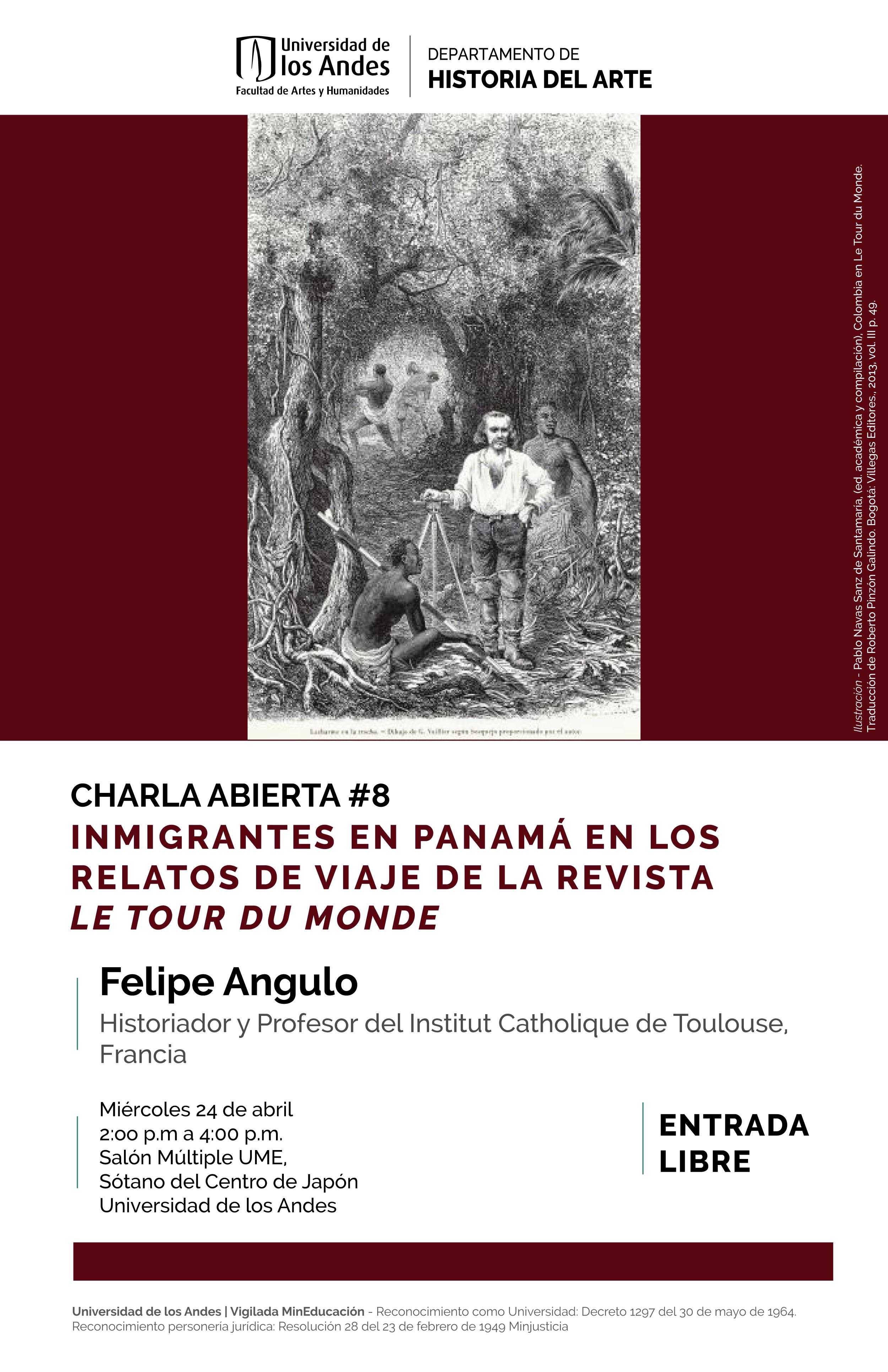 Inmigrantes en Panamá en los relatos de viaje de la revista Le Tour du Monde