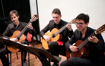 Concierto: Cuarteto de guitarra y Conjunto de música colombiana