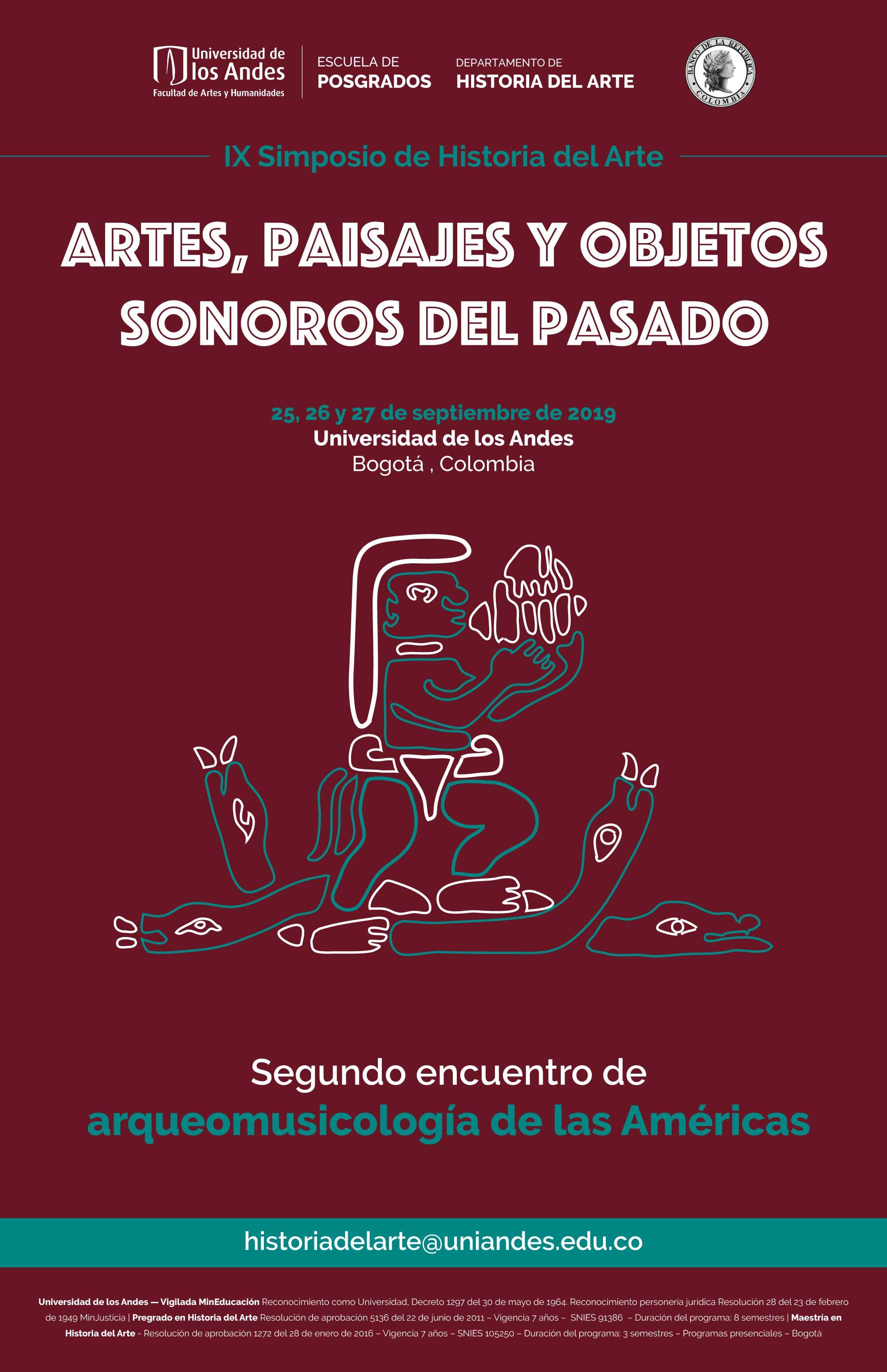 Tercera circular: Segundo encuentro de arqueomusicología de las Américas