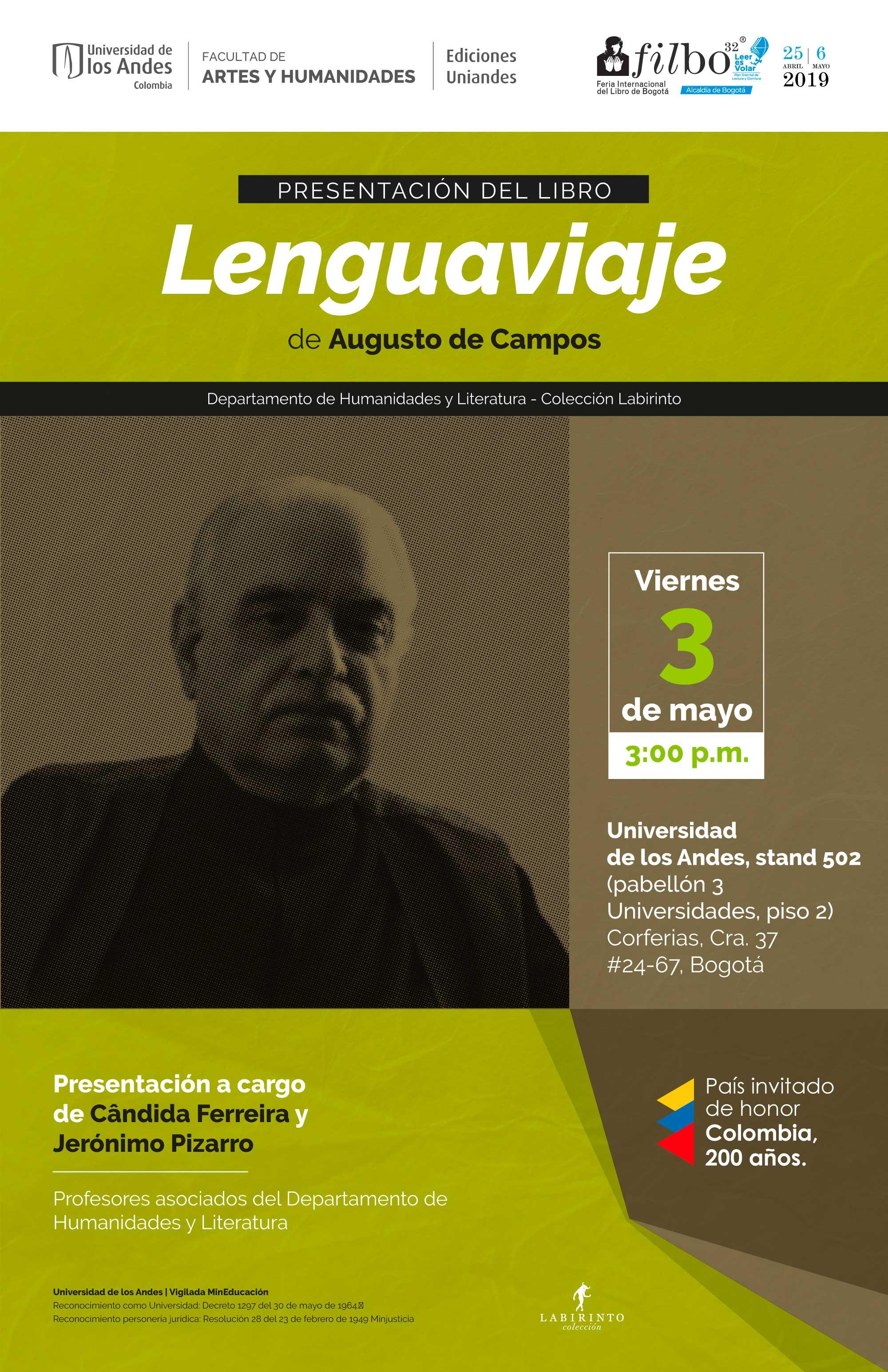 Presentación del libro Lenguaviaje