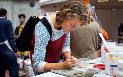 Video. Hacer cerámica permite transformar, soltar, olvidar los resultados y perder el miedo