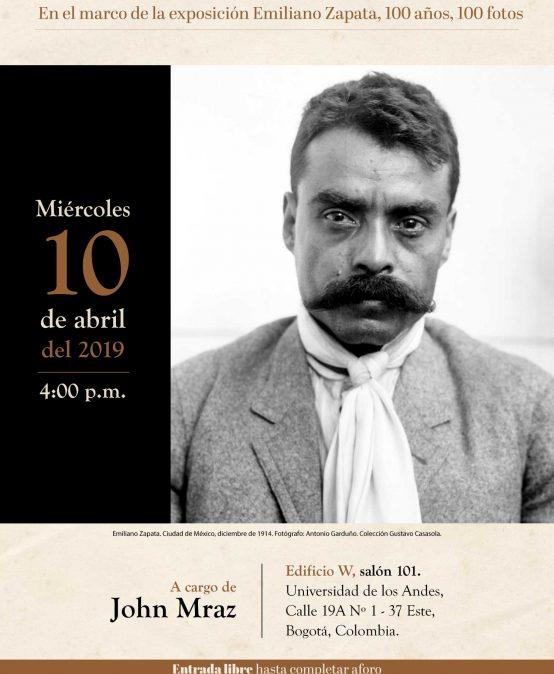 Conferencia inaugural exposición Emiliano Zapata, 100 años, 100 fotos