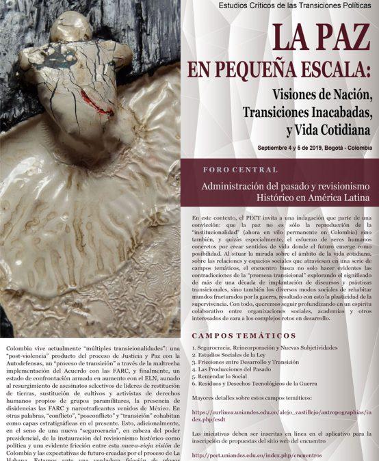 III Encuentro Internacional de Estudios Críticos de las Transiciones Políticas