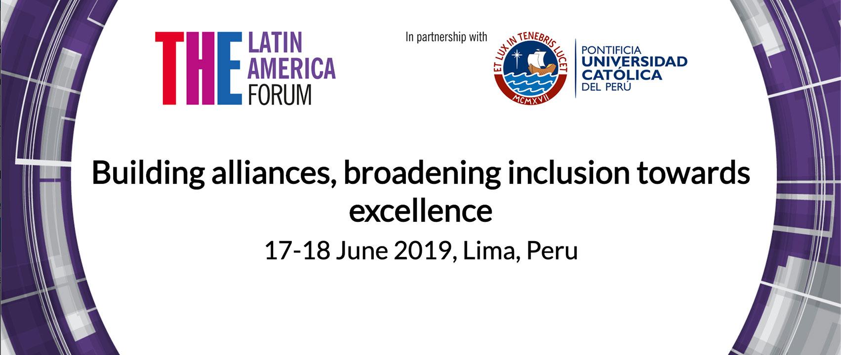 Artes y Humanidades de Uniandes en el Foro Latinoamericano de Times Higher Education