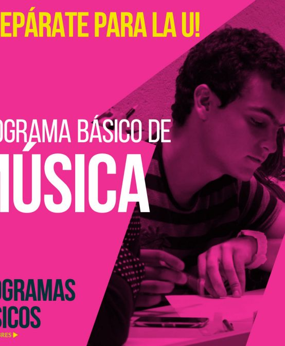 Programa básico en Música