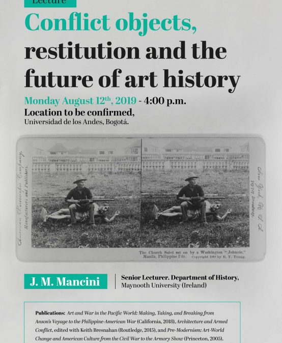 Lecture: Conflict objects, restitution and the future of art history