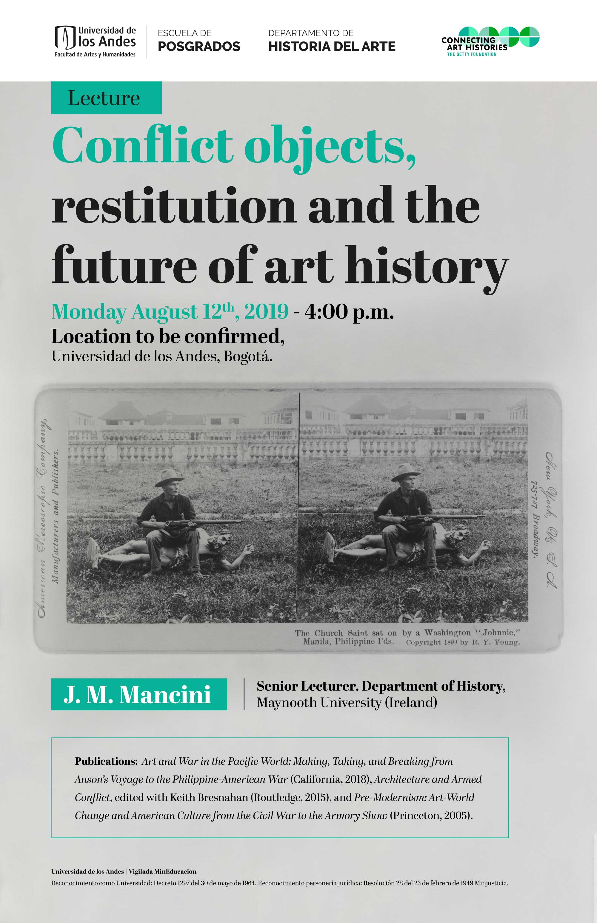 Conflict objects, restitution and the future of art history