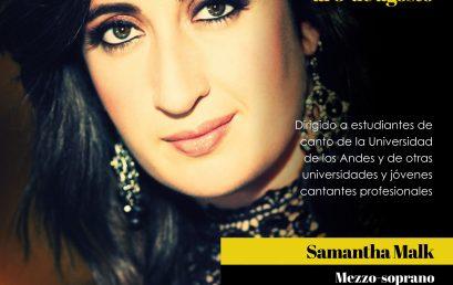 Estudio intensivo de canto lírico con Samantha Malk