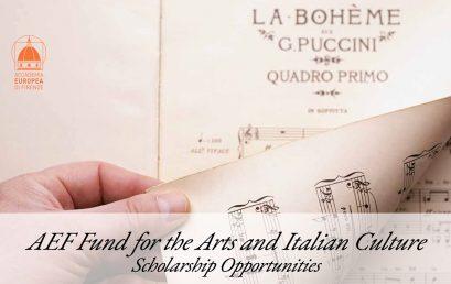Beca Giacomo Puccini para cantantes líricos