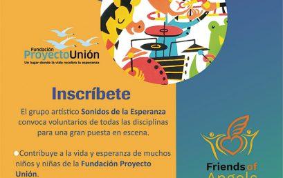 """Convocatoria: Voluntariado """"Sonidos de la Esperanza"""""""