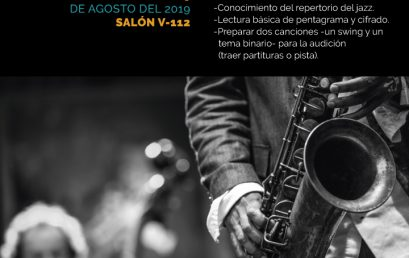 Audiciones: Ensamble de Jazz y Big Band Uniandes