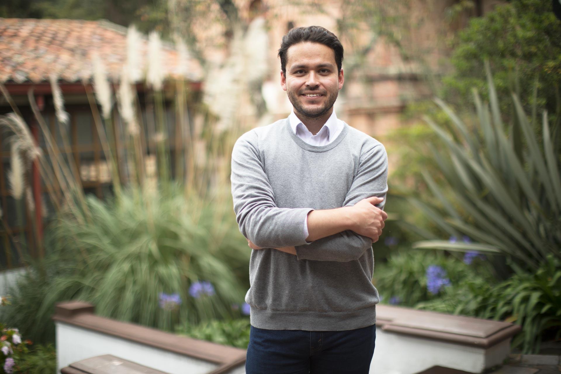 Cristian Camilo Baquero, estudiante de la Maestría en Humanidades Digitales, gana beca ELAP