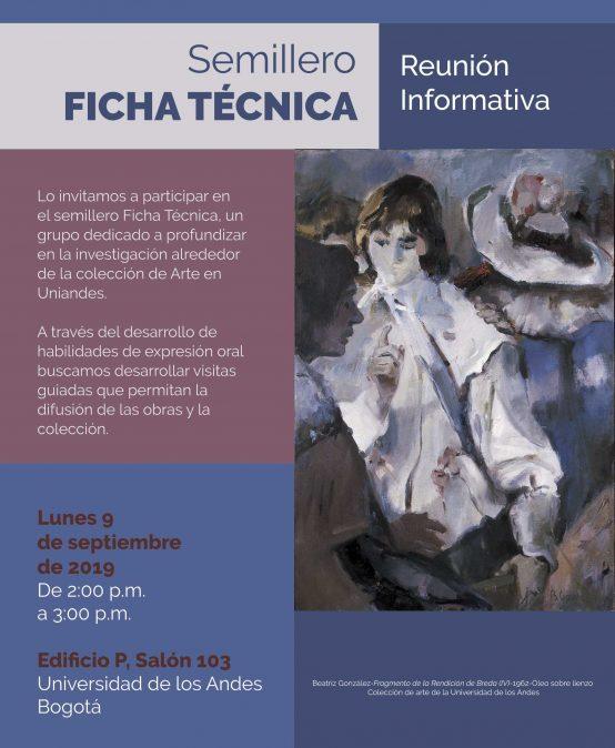 Reunión informativa del Semillero Ficha técnica
