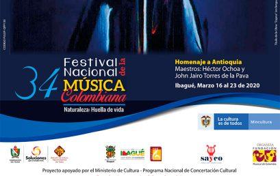 Convocatoria: 34 Festival Nacional de la Música Colombiana