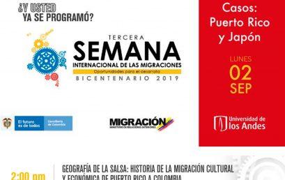 """Conferencia: """"Geografía de la salsa: historia de la migración cultural y económica de Puerto Rico a Colombia"""""""