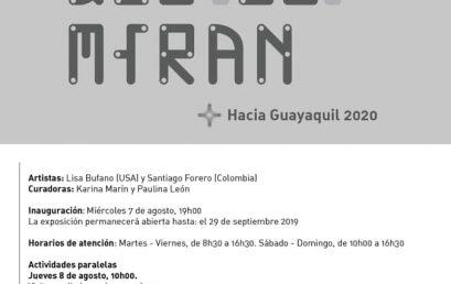 Exposición Cuerpos que (se) miran, Hacia Guayaquil 2020