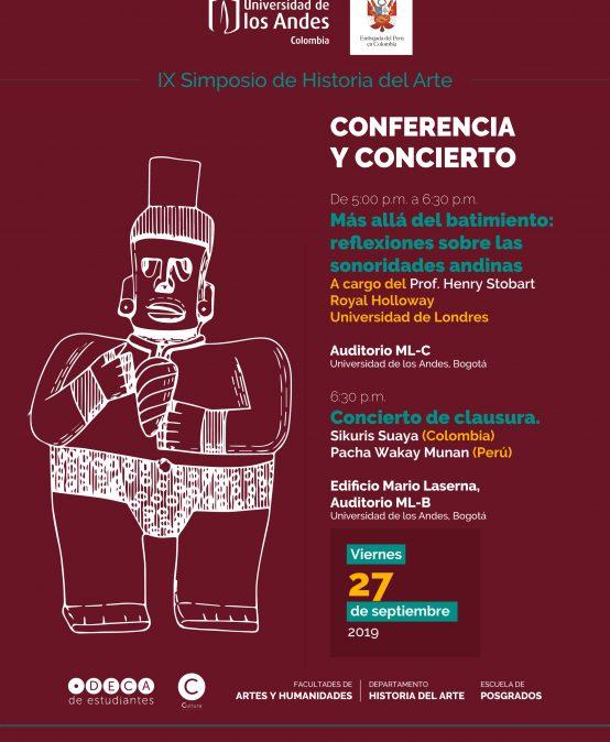 Concierto de clausura: Artes, paisajes y objetos sonoros del pasado