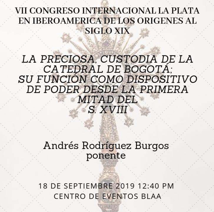 Preciosa custodia de Andrés Rodríguez