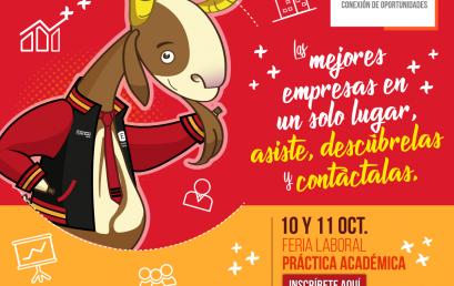 Feria laboral de prácticas en la Universidad de los Andes