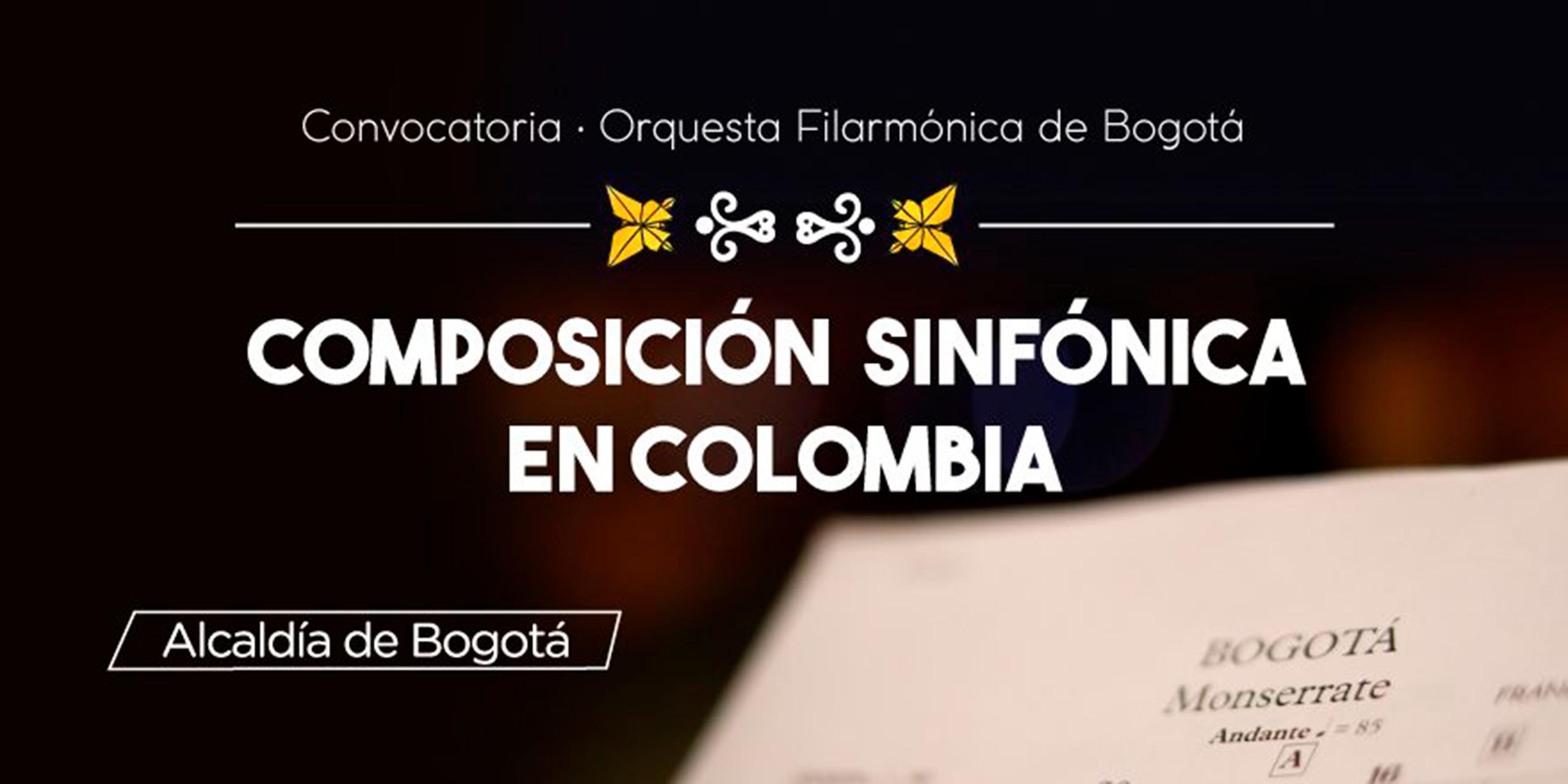 Convocatoria: Composición Sinfónica en Colombia – Catálogo Digital