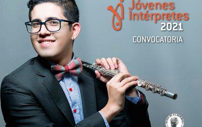 Convocatoria: Jóvenes Intérpretes 2021