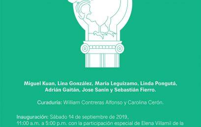 Exposición Pastas el gallo – curaduría por Carolina Cerón y William Contreras Alfonso