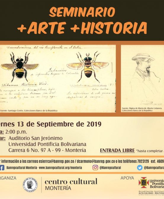 Seminario: + Arte + Historia