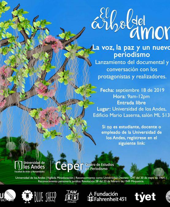 Lanzamiento del corto animado: El árbol del amor