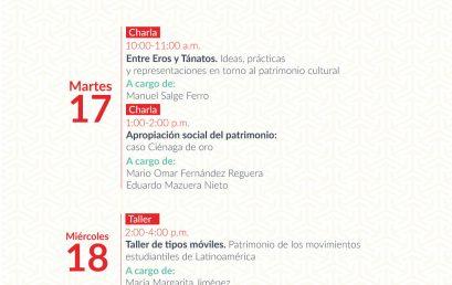 Charla: Entre Eros y Tánatos. Ideas prácticas y representaciones en torno al patrimonio cultural