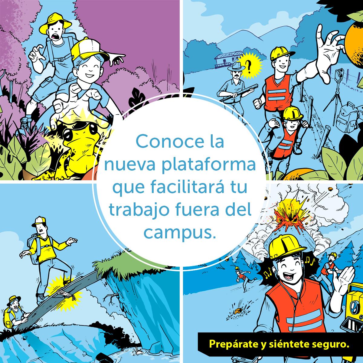 Plataforma Salidas del Campus