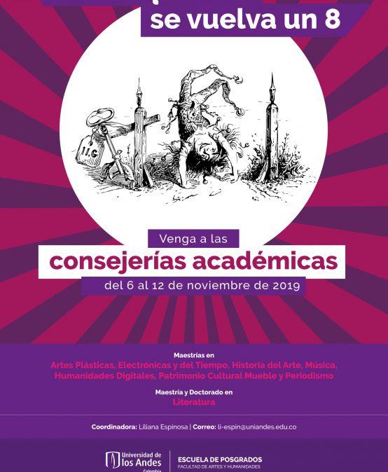 Consejerías académicas de la Escuela de Posgrados