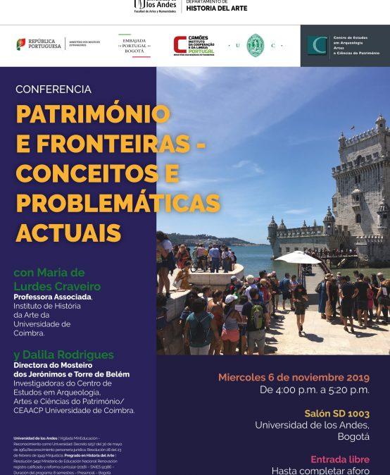 Conferencia: Património e fronteiras – Conceitos e problemáticas actuais