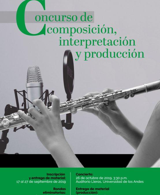 Concierto del Concurso de composición, interpretación y producción