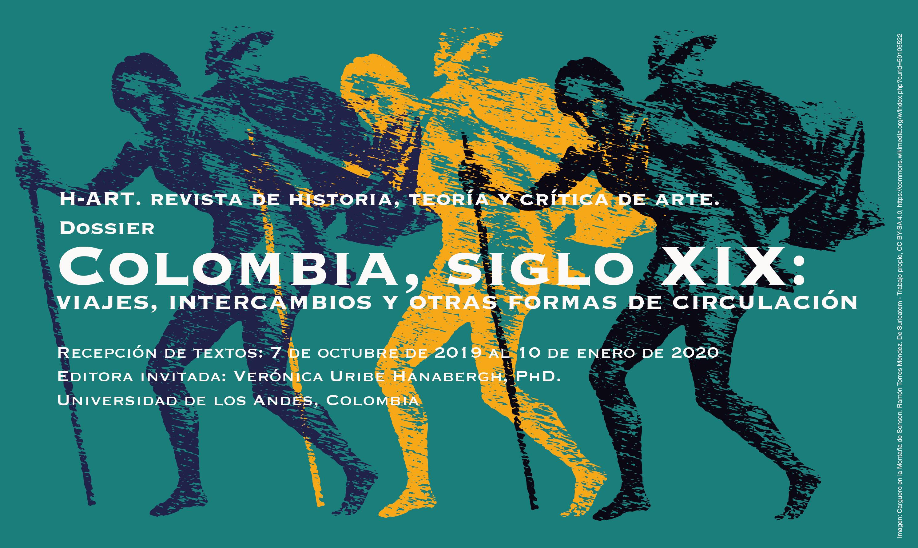 Convocatoria. Dossier Colombia, siglo XIX: viajes, intercambios y otras formas de circulación