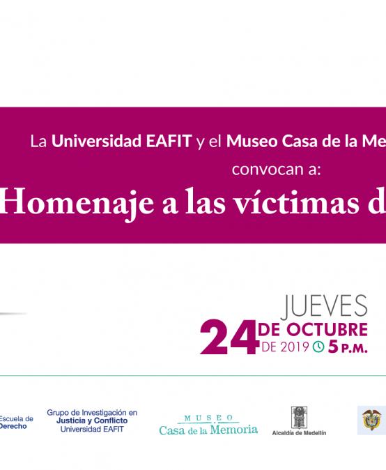 Homenaje a las víctimas del secuestro