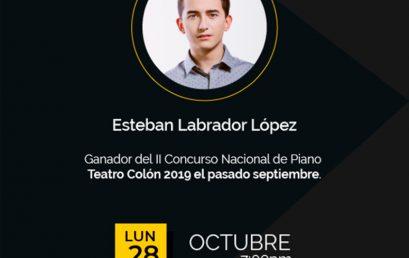 Recital de Piano – Esteban Labrador López