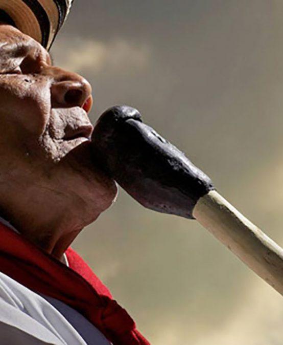 Rueda de gaitas en la semana Caribe en Los Andes