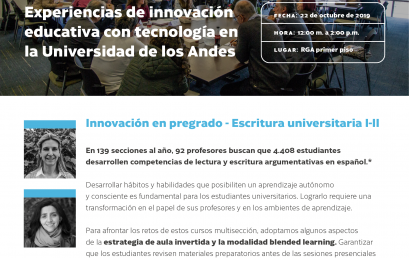 La innovación en los cursos de Escritura Universitaria I-II en Conecta-TE