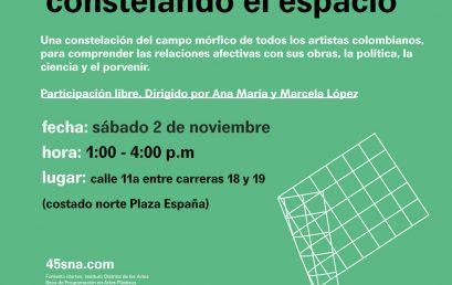 Constelando el espacio | Exposición Pastas el Gallo