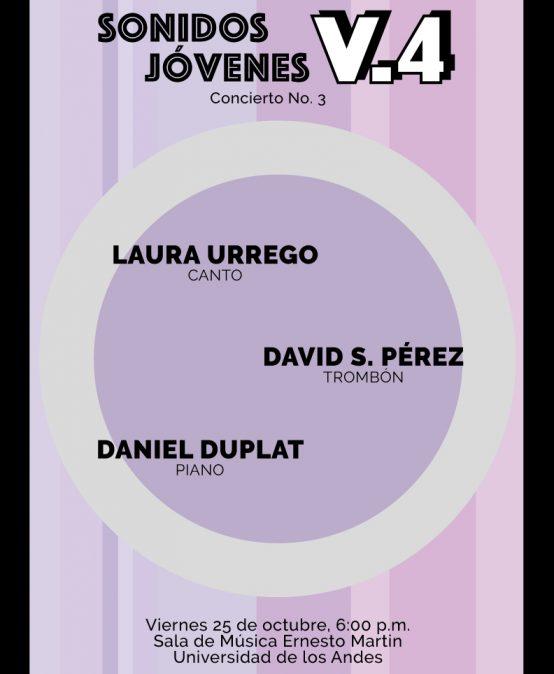 Concierto 3: Sonidos Jóvenes V.4