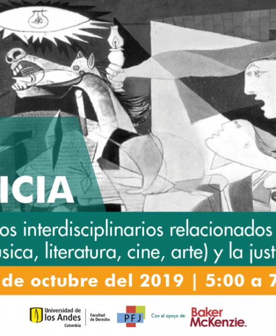 """Lanzamiento del Ciclo de Conversatorios """"Estéticas de la Justicia"""" con Piedad Bonett"""