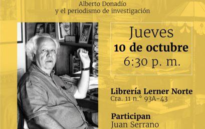 Presentación del libro Contra el poder. Alberto Donadío y el periodismo de investigación