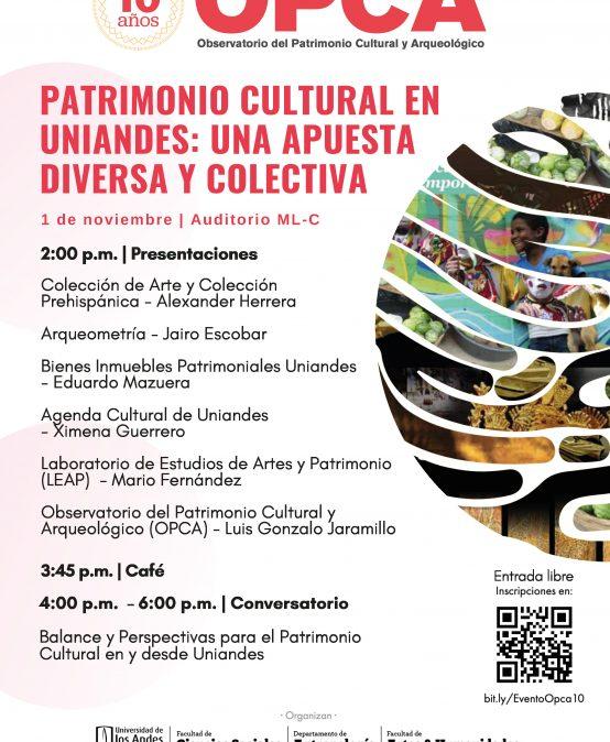 Patrimonio cultural en Uniandes: una apuesta diversa y colectiva